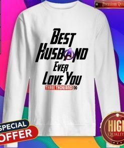 Avengers Best Husband Ever Love You Three Thousand I Do Sweatshirt