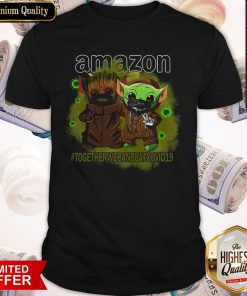 Baby Groot And Baby Yoda Face Mask Star Wars Darth Vader Amazon Together We Can Beat Covid 19 Shirt