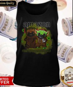 Baby Groot And Baby Yoda Face Mask Star Wars Darth Vader Amazon Together We Can Beat Covid 19 Tank Top