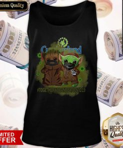 Baby Groot And Babay Yoda Face Mask Star Wars Darth Vader Cumberland Together We Can Beat Covid 19 Tank Top