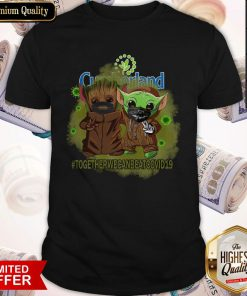 Baby Groot And Babay Yoda Face Mask Star Wars Darth Vader Cumberland Together We Can Beat Covid 19 Shirt