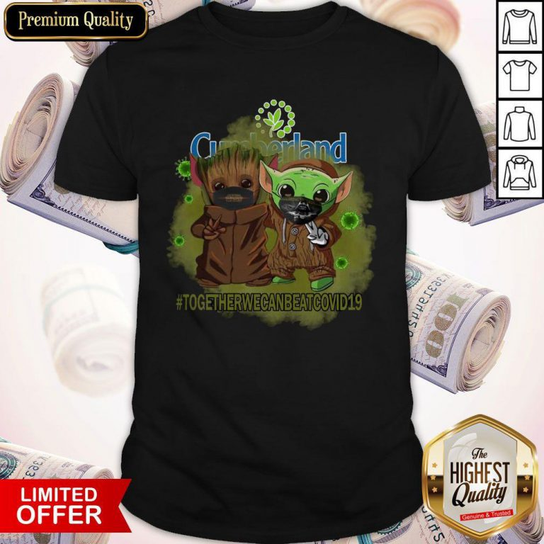 Baby Groot And Babay Yoda Face Mask Star Wars Darth Vader Cumberland Together We Can Beat Covid 19 Shirt
