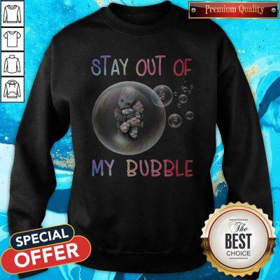 Baby Groot Hug Autism Stay Out Of My Bubble Sweatshirt