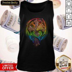 Premium Cross Dragon LGBT Color Tank Top