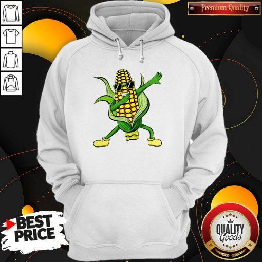 Dabbing Corn Cob Dancing Farm Classic Hoodiea