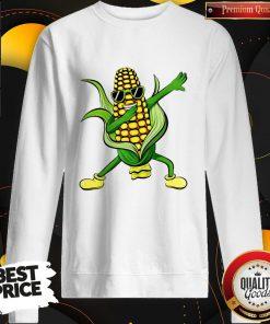 Dabbing Corn Cob Dancing Farm Classic Sweatshirt