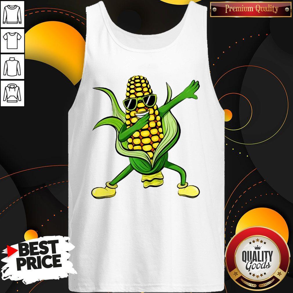 Dabbing Corn Cob Dancing Farm Classic Tank Top