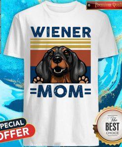 Dachshund Wiener Mom Vintage Shirt