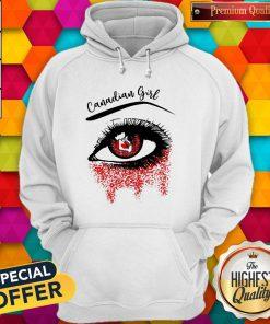 Eye Canadian Girl Classic Hoodiea