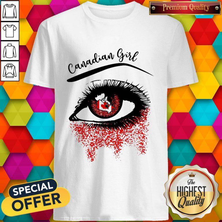 Eye Canadian Girl Classic Shirt