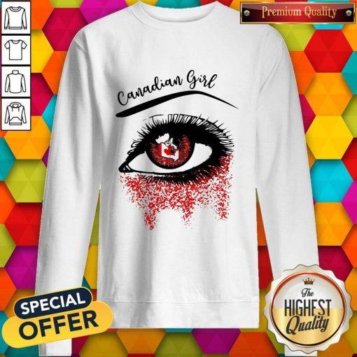 Eye Canadian Girl Classic Sweatshirt