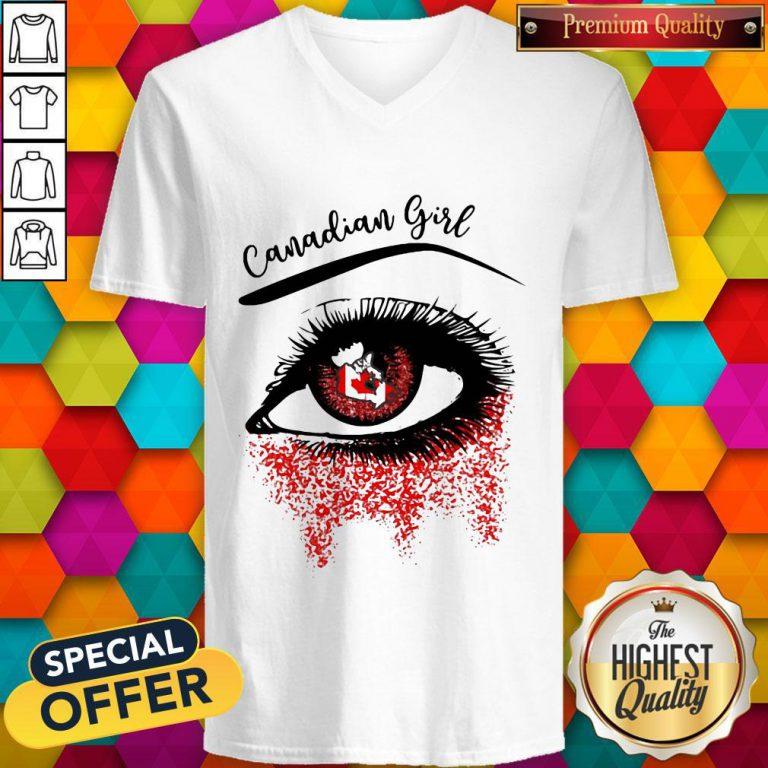 Eye Canadian Girl Classic V- neck