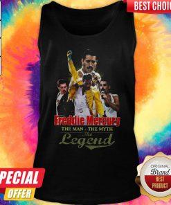 Freddie Mercury The Man The Myth The Legend Tank Top