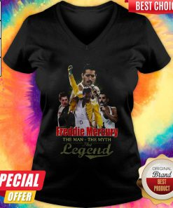 Freddie Mercury The Man The Myth The Legend V- neck