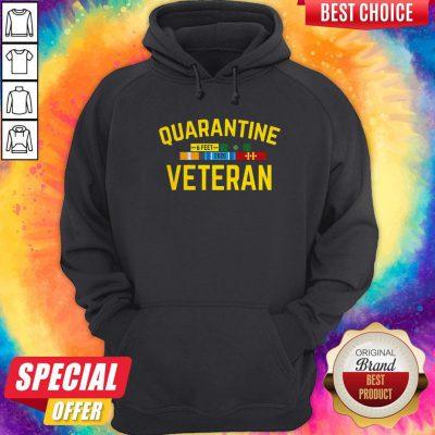 Official Quarantine Veteran Hoodiea