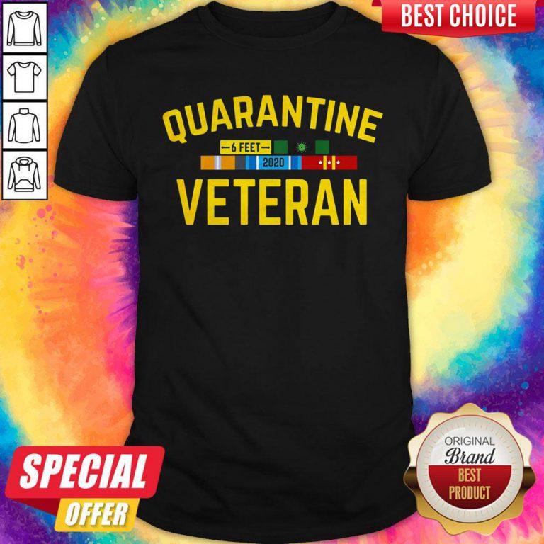 Official Quarantine Veteran Shirts