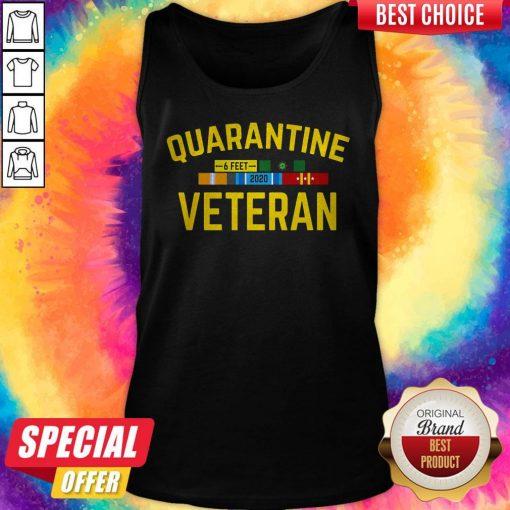 Official Quarantine Veteran Tank Top