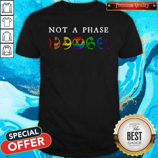 LGBT Not A Phase Shirt