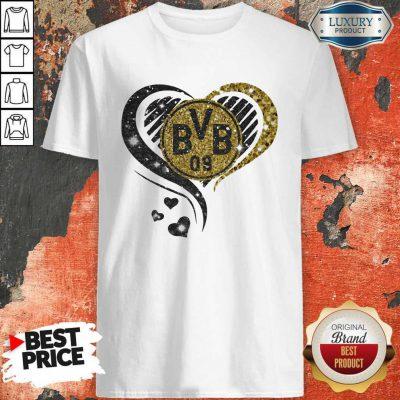 Love Borussia Dortmund Hearts Diamond Shirt
