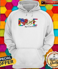 Love My Cororete Finisher Coloer Hoodiea