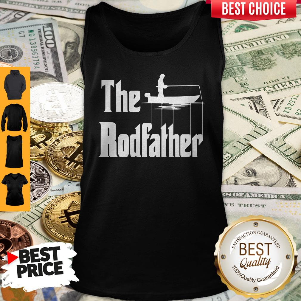 Nice Fishing The Rodfather The Godfather Tank Top