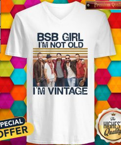 Official BSB Girl I'm Not Old I'm Vintage V- neck