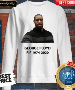 Official George Floyd RIP 1974 2020 Sweatshirt