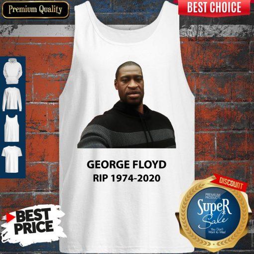 Official George Floyd RIP 1974 2020 Tank Top