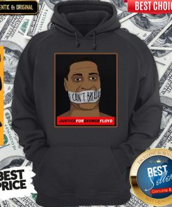 Official I Can't Breathe Justice For George Floyd Hoodie