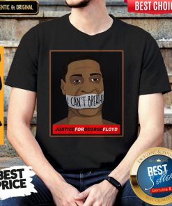 Official I Can't Breathe Justice For George Floyd Shirt