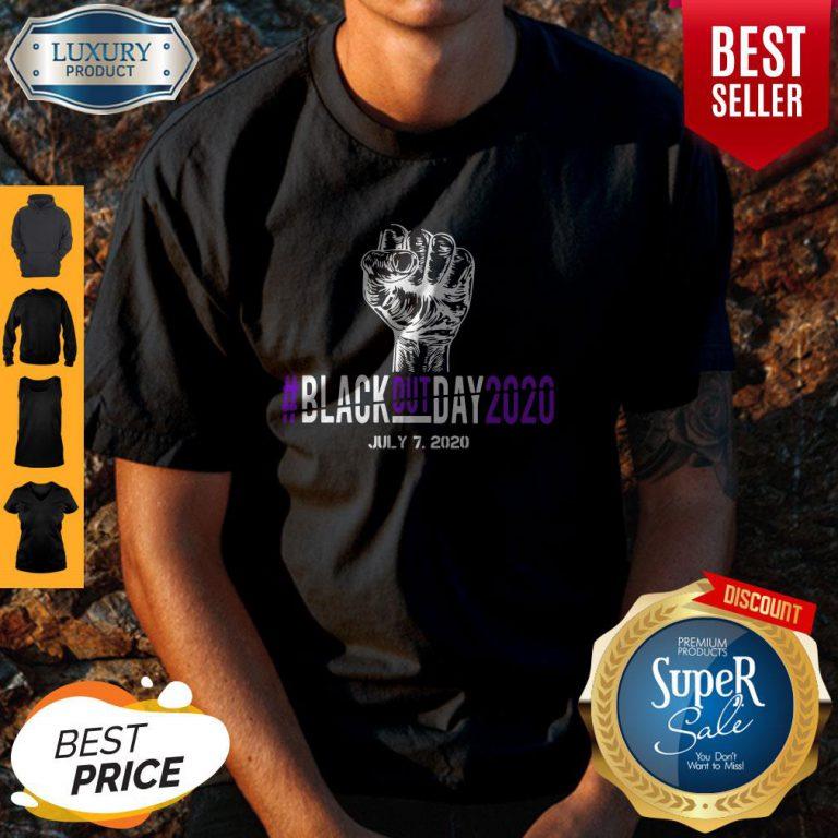 Pretty Black Out Day 2020 July 7 2020 Shirt