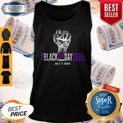 Pretty Black Out Day 2020 July 7 2020 Tank Top