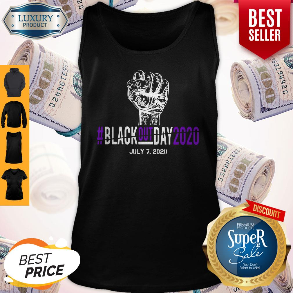 Pretty Black Out Day 2020 July 7 2020 Tank Top