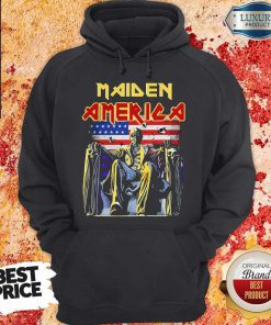 Pretty Iron Maiden American flag ShirtPretty Iron Maiden American flag Hoodiea