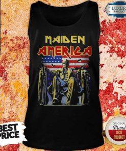 Pretty Iron Maiden American flag ShirtPretty Iron Maiden American flag Tank Top