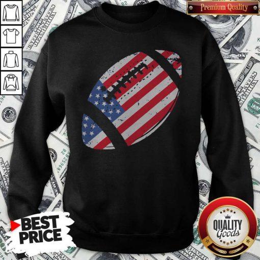 The 4th Of July American Football Sweatshirt