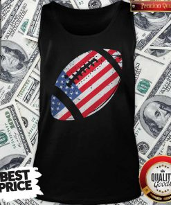 The 4th Of July American Football Tank Top