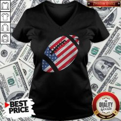 The 4th Of July American Football V-neck