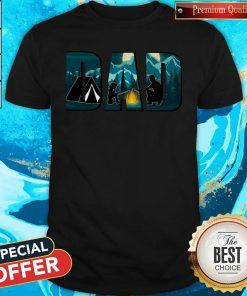 Top Dad Camping Shirt