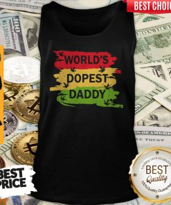 Top World's Dopest Daddy Cannabis Tank Top