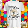 You Came To Say Hello Today I Whispered I Miss You As You Flew Away Blue Dragonfly 3D Golden Tree O Shirt