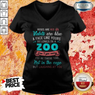 A Face Like Yours Belongs To The Zoo Tank Top