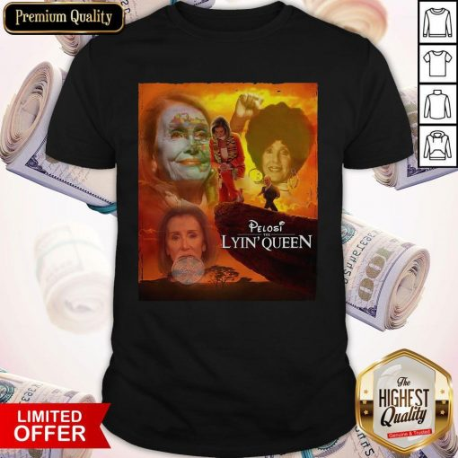Awesome Pelosi the Lyin' Queen ShirtAwesome Pelosi the Lyin' Queen Shirt