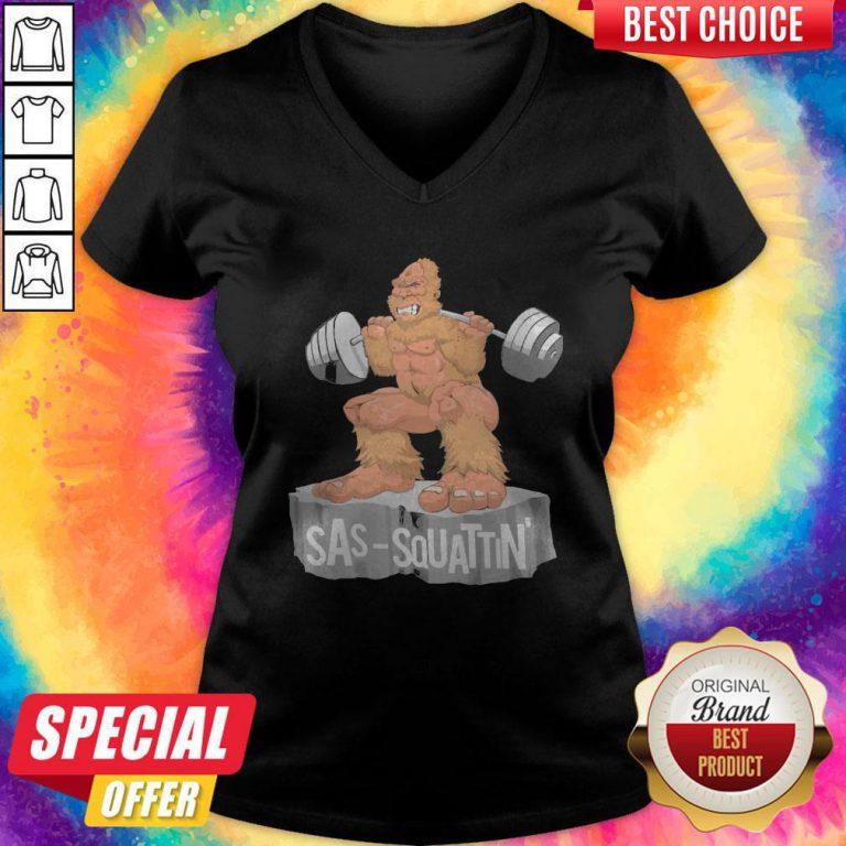 Bigfoot Sas Squattin Gym V- neck