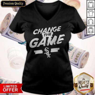 Change The Game Sox Twins V- neck