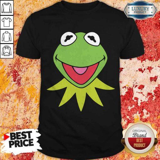 Disney Muppets Kermit The Frog Face Shirt