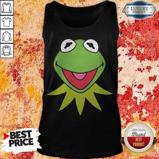 Disney Muppets Kermit The Frog Face Tank Top