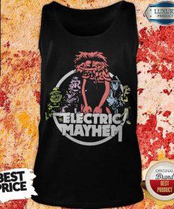 Funny Electric Mayhem Tank Top