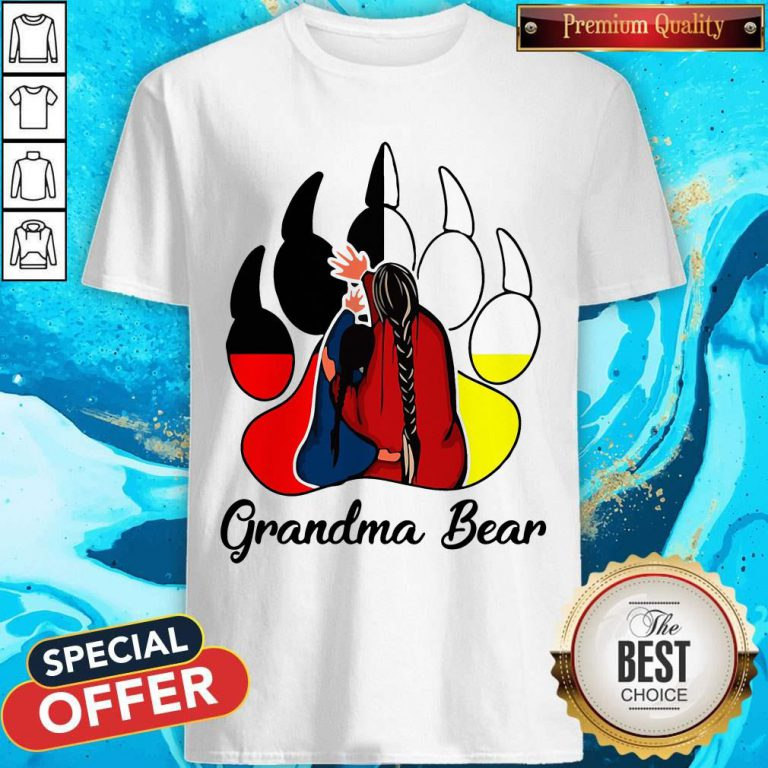 Funny Native Grandma Bear Shirts