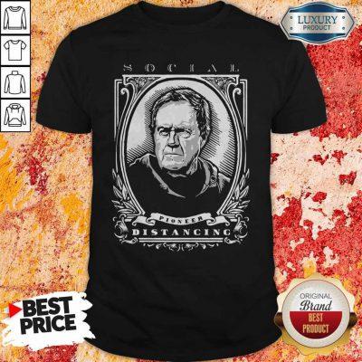 Funny Social Pioneer Distancing Shirt